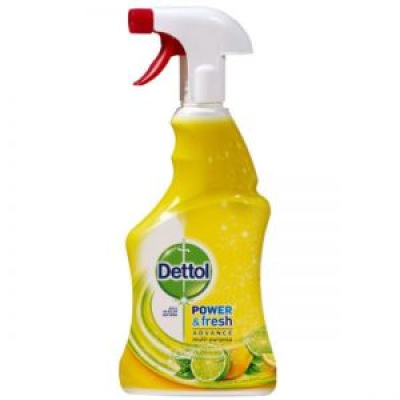 Spray multifunctional Dettol Power & Fresh, Lemon & Lime, 500 ml