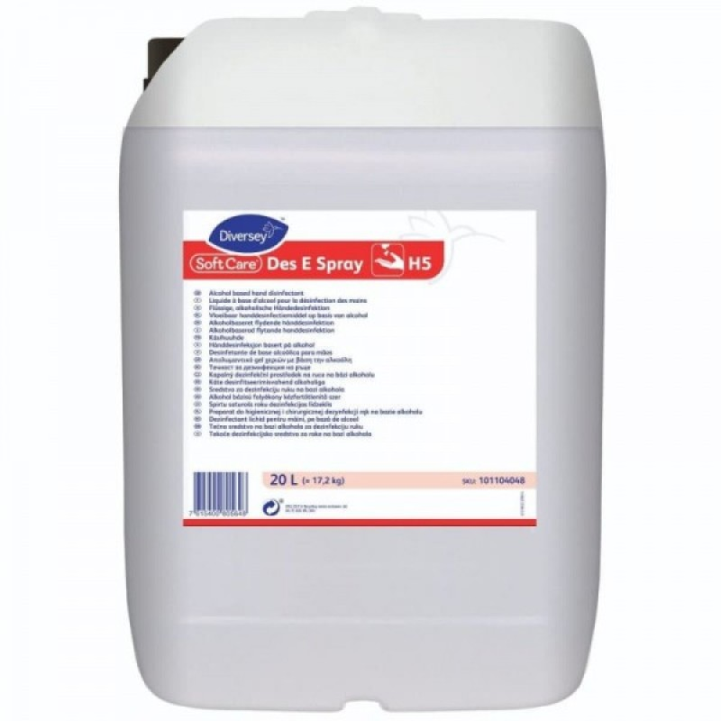 Dezinfectant pentru maini-Soft Care Des E Spray - 20L